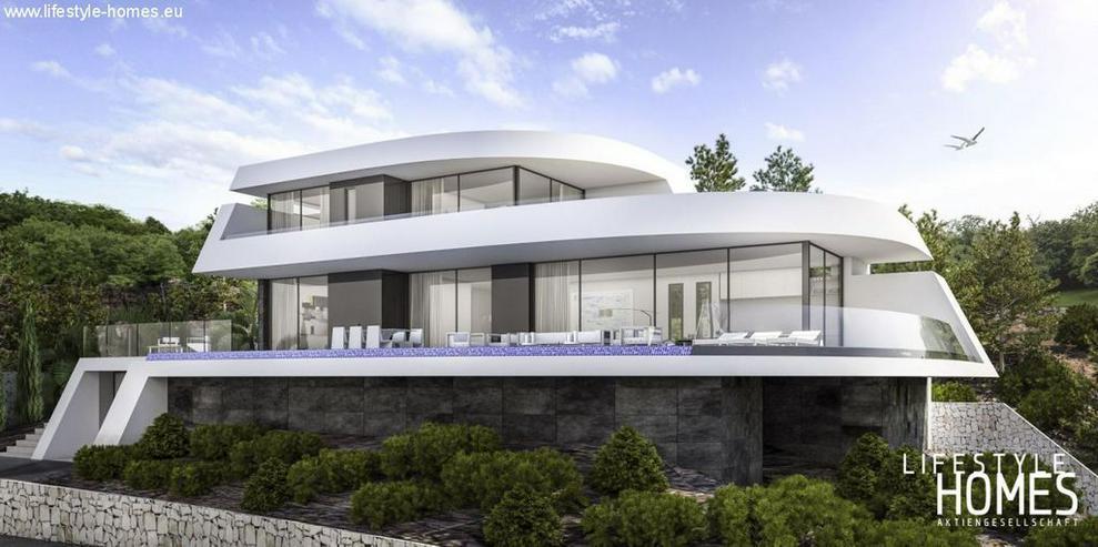 : futuristische Raumschiff Luxus Villa für den erlesenen Geschmack (ohen Grundstück) - Haus kaufen - Bild 1