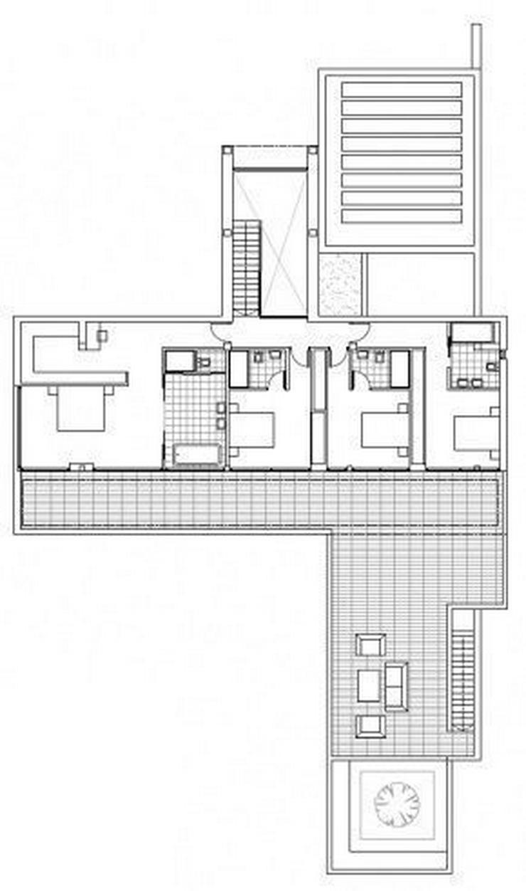 Bild 4: : Großraum Bauhausstil Luxus Villa mit 4 SZ (ohne Grundstück)