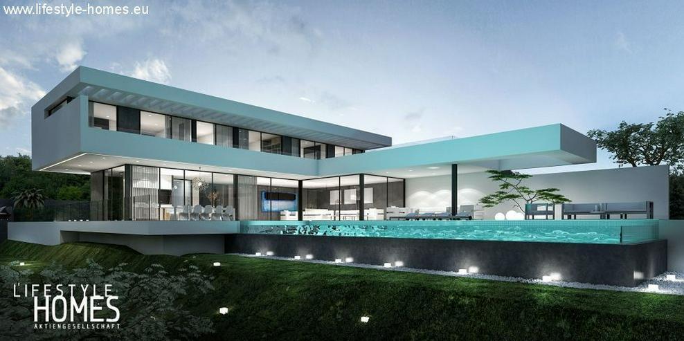 Bild 2: : Großraum Bauhausstil Luxus Villa mit 4 SZ (ohne Grundstück)