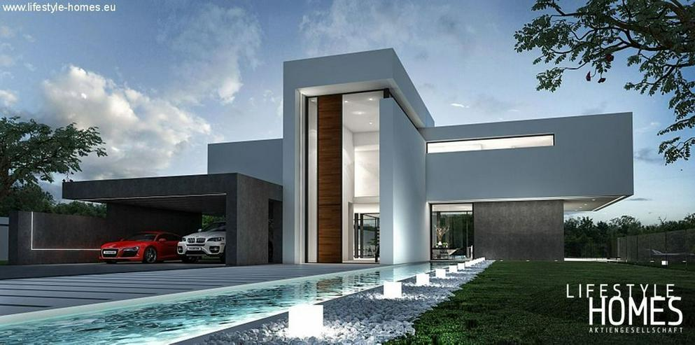 : Großraum Bauhausstil Luxus Villa mit 4 SZ (ohne Grundstück) - Haus kaufen - Bild 1