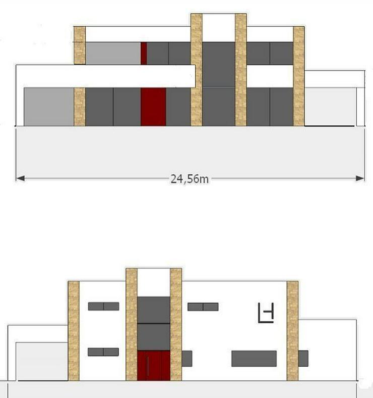 : Neubauprojekt, 3 SZ, 3 Bäder in Cala Pi