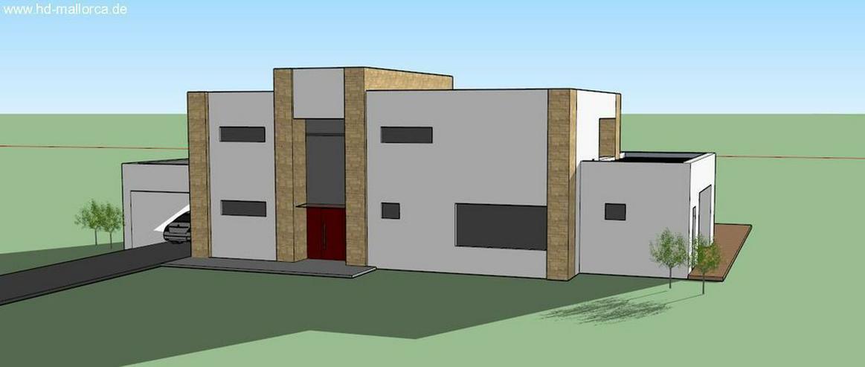 Bild 2: : Luxus-Neubauvilla mit 3 SZ, Naturstein-Optik, Holz100, Energiesparhaus (ohne Grundstück...