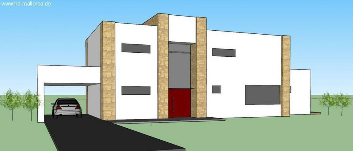 Bild 3: : Luxus-Neubauvilla mit 3 SZ, Naturstein-Optik, Holz100, Energiesparhaus (ohne Grundstück...