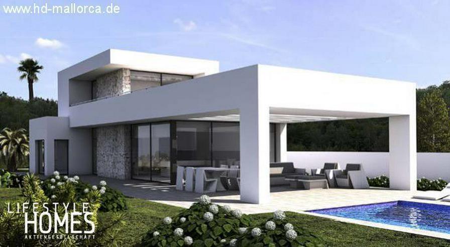 : günstige futuristische Bauhaus Villa mit 3 SZ und Pool (ohne Grundstück) - Haus kaufen - Bild 1