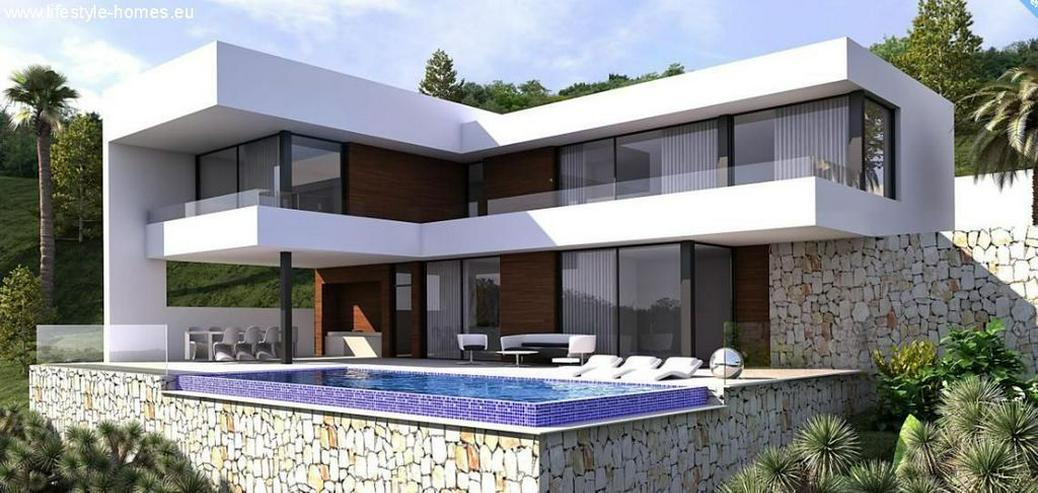 : Villa Natalia, modern Bauhausstil, 3 SZ, Pool (ohne Grundstück) - Haus kaufen - Bild 1