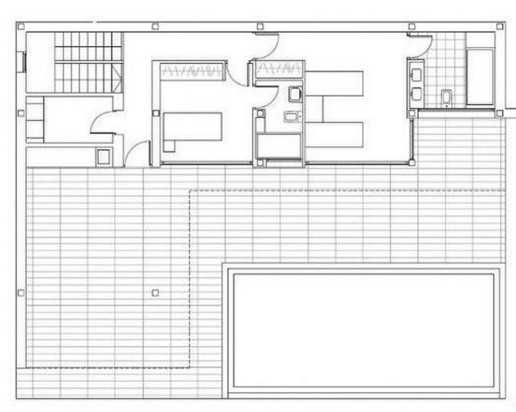 Bild 2: : Villa Natalia, modern Bauhausstil, 3 SZ, Pool (ohne Grundstück)