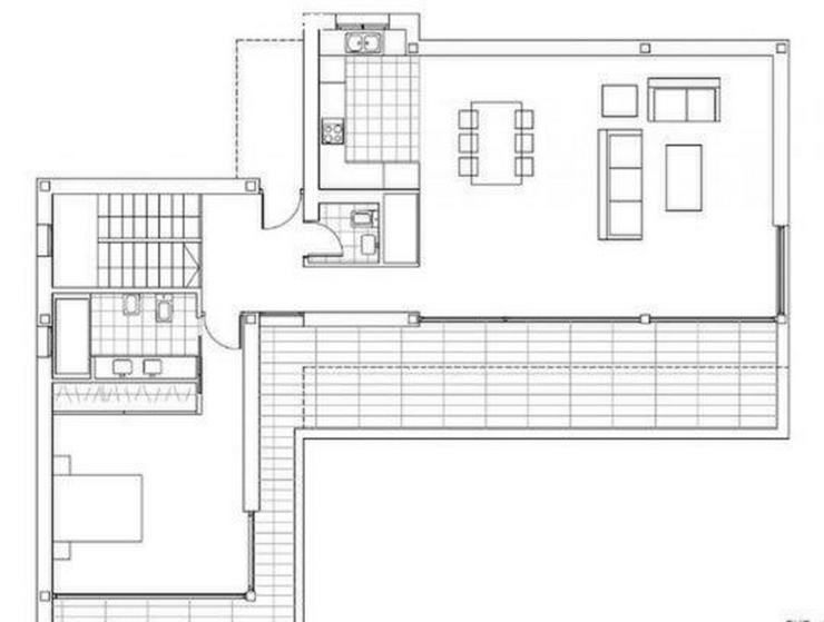Bild 3: : Villa Natalia, modern Bauhausstil, 3 SZ, Pool (ohne Grundstück)