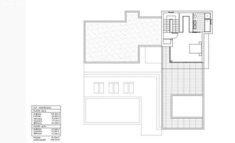 Bild 2: : moderne Bauhausvilla Typ Ana mit 3 SZ und viel Platz (ohne Grundstück)
