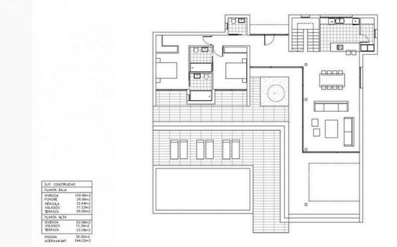 Bild 3: : moderne Bauhausvilla Typ Ana mit 3 SZ und viel Platz (ohne Grundstück)