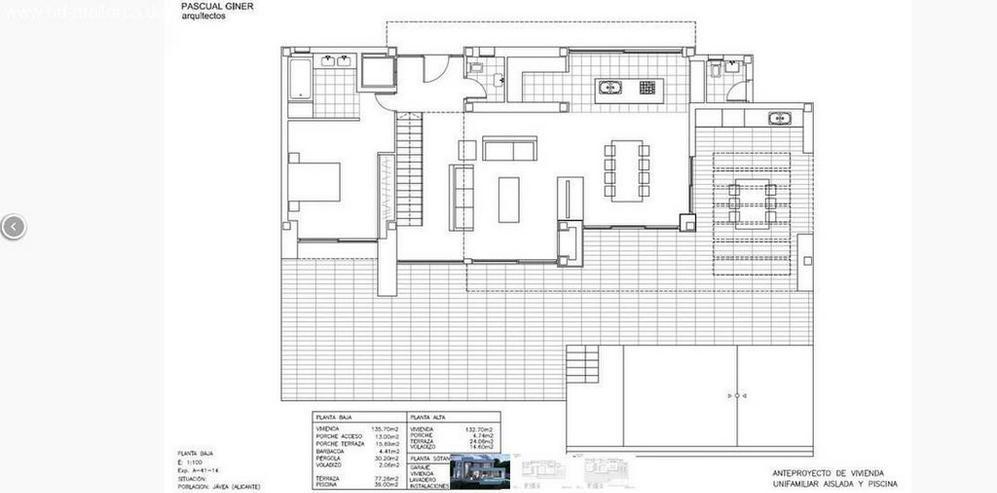 Bild 3: : futuristische Luxus Neubauvilla im Bauhausstil mit 4 SZ (ohne Grundstück)