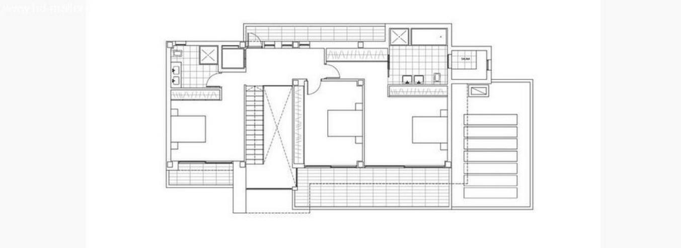 Bild 2: : futuristische Luxus Neubauvilla im Bauhausstil mit 4 SZ (ohne Grundstück)