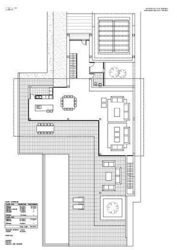 Bild 3: : Großraum Bauhausstil Luxus Villa mit 4 SZ (ohne Grundstück)
