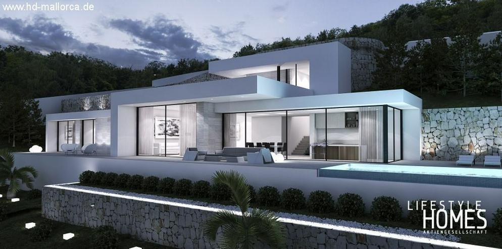 : Klein, aber großige moderne Bauhausstil Villa 3 SZ (Ohne Grundstück) - Haus kaufen - Bild 1