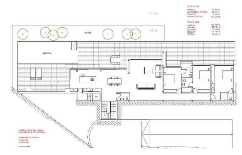 Bild 3: : Klein, aber großige moderne Bauhausstil Villa 3 SZ (Ohne Grundstück)