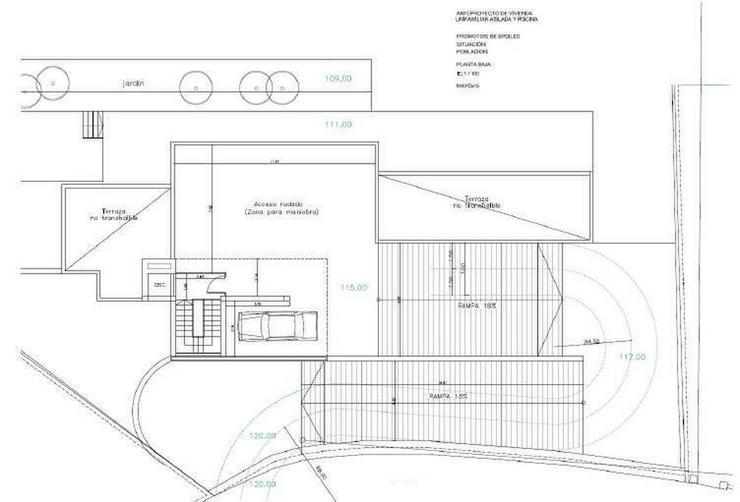 Bild 2: : Klein, aber großige moderne Bauhausstil Villa 3 SZ (Ohne Grundstück)