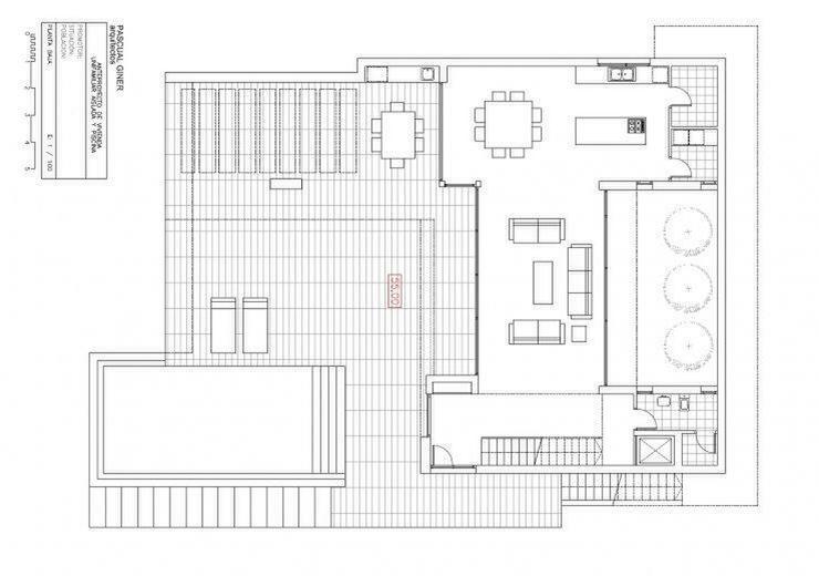 Bild 2: : große moderne Villa mit viel PLATZ im Bauhausstil (ohne Grundsteuer)
