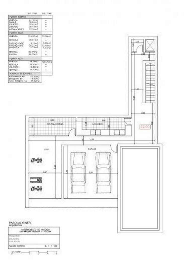 Bild 3: : große moderne Villa mit viel PLATZ im Bauhausstil (ohne Grundsteuer)