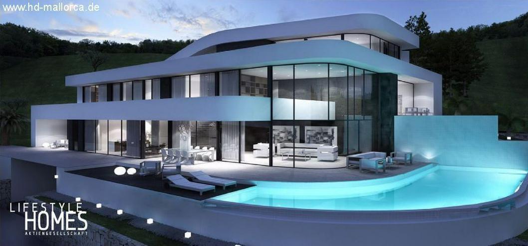 : Prachtvolle moderne Villa mit harmonischen Formen (ohne Grundstück) - Haus kaufen - Bild 1