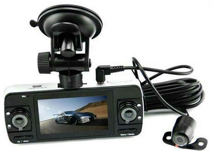 Dashcam Auto DVR Kamera F80 mit 3 Kameras