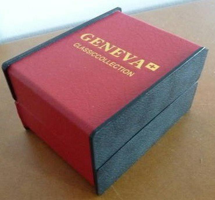 Bild 3: Geneva Elegant Gold Damen/Herren Uhr