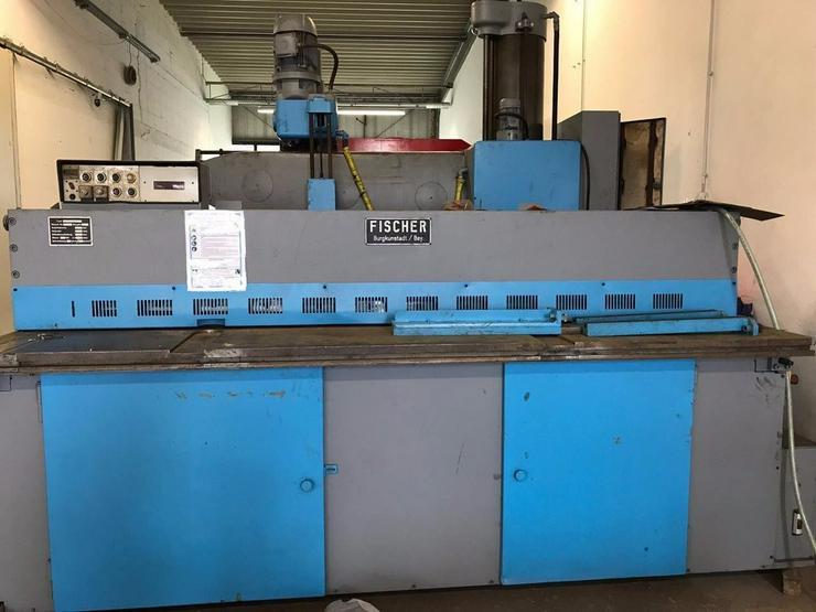 Tafelschere FISCHER 2500 x 4 mm - Metallverarbeitung & Fahrzeugbau - Bild 1