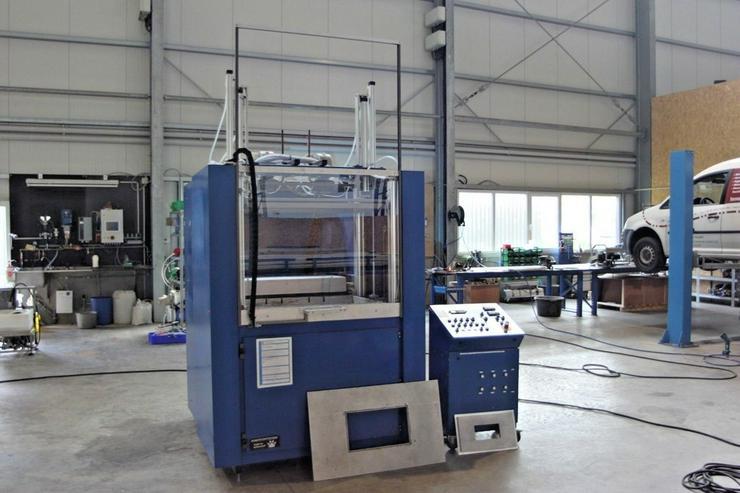 Tiefziehmaschine-Thermoform-Industriemaschine