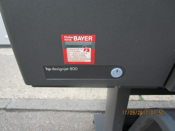 Bild 2: HP - Plotter, Modell DesignJet 800