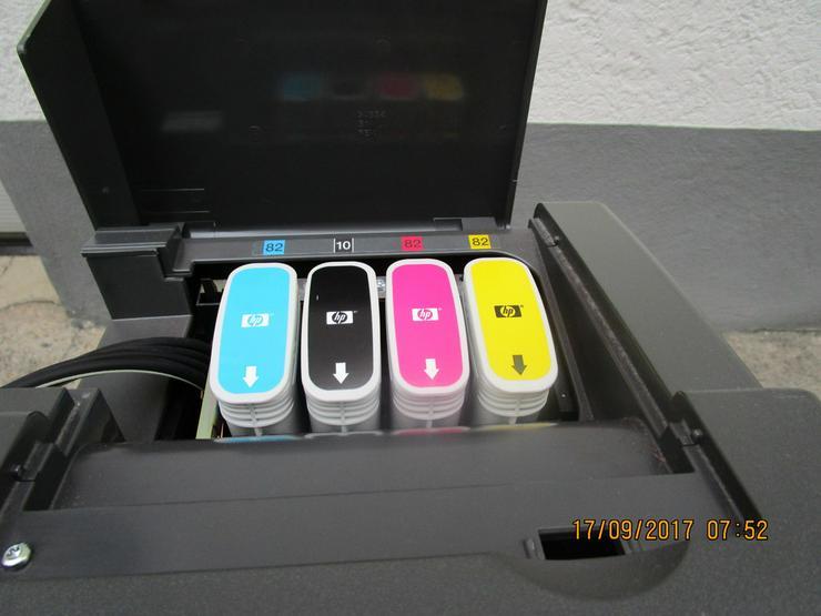 Bild 3: HP - Plotter, Modell DesignJet 800