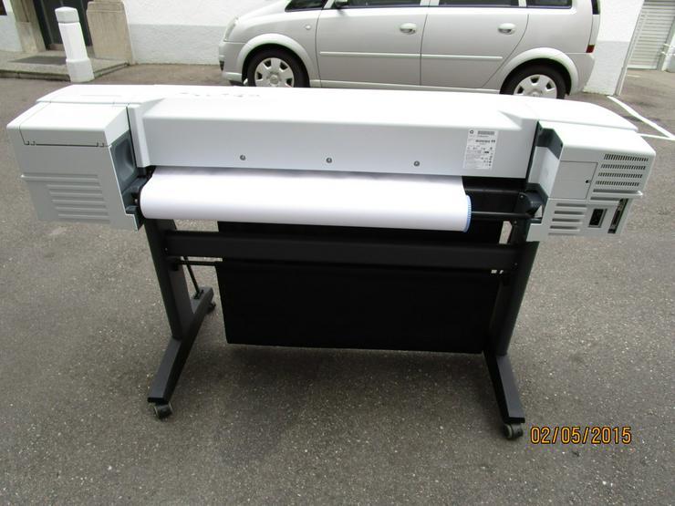 Bild 5: HP - Plotter, Modell DesignJet 510