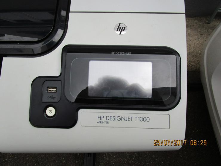 Bild 2: HP - Plotter, Modell DesignJet T 1300/PS