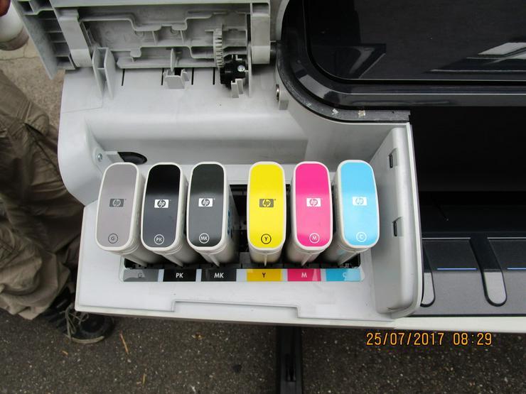 Bild 3: HP - Plotter, Modell DesignJet T 1300/PS