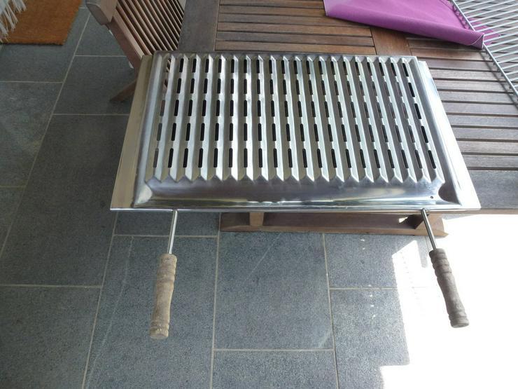 Bild 2: 2 Grillrost 67x40 cm + Griff passend MCZ