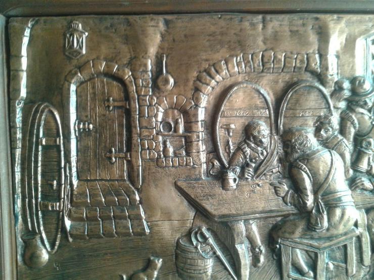 ca. 50 Jahre altes Kupferbild - Metallbilder - Bild 7