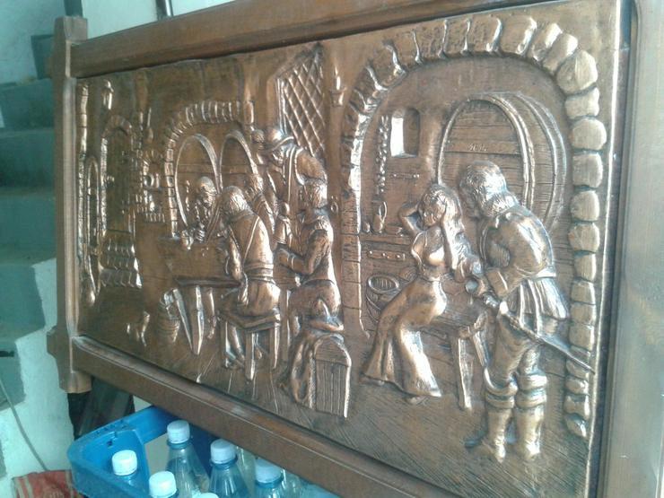 Bild 5: ca. 50 Jahre altes Kupferbild