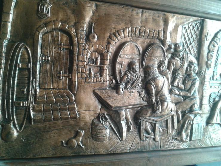 Bild 4: ca. 50 Jahre altes Kupferbild