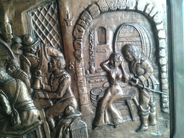 Bild 6: ca. 50 Jahre altes Kupferbild
