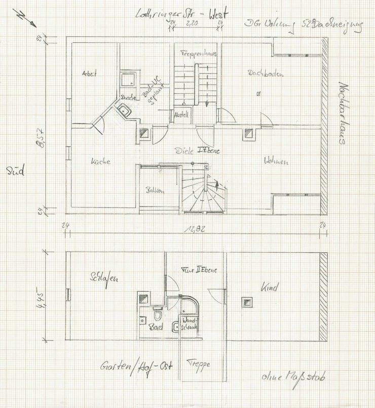 Bild 5: Maisonettewohnung mit Ausbaupotential