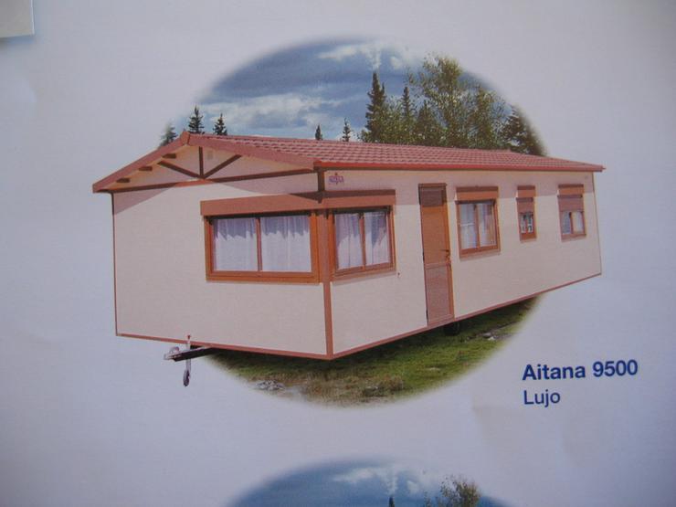 Mobilheim mit Gästehaus und Wirtschaftshaus