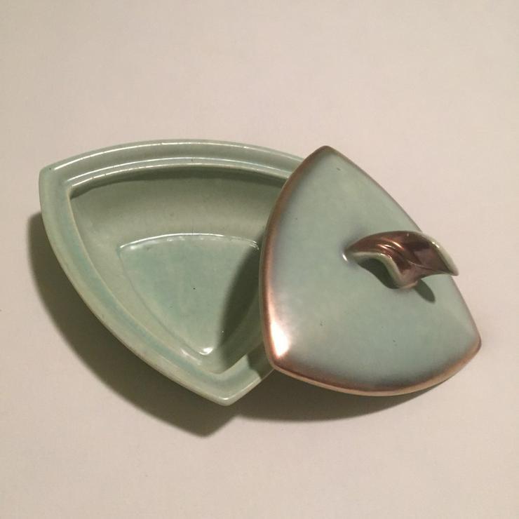 Bild 2: Schmuckschatulle Porzellan, 50-er Jahre