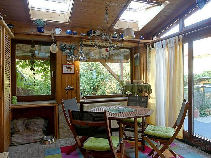 (EF0415_M) Arnstadt: Arnstadt, großes uriges Apartment mit beheizter Veranda, Terrasse, G...