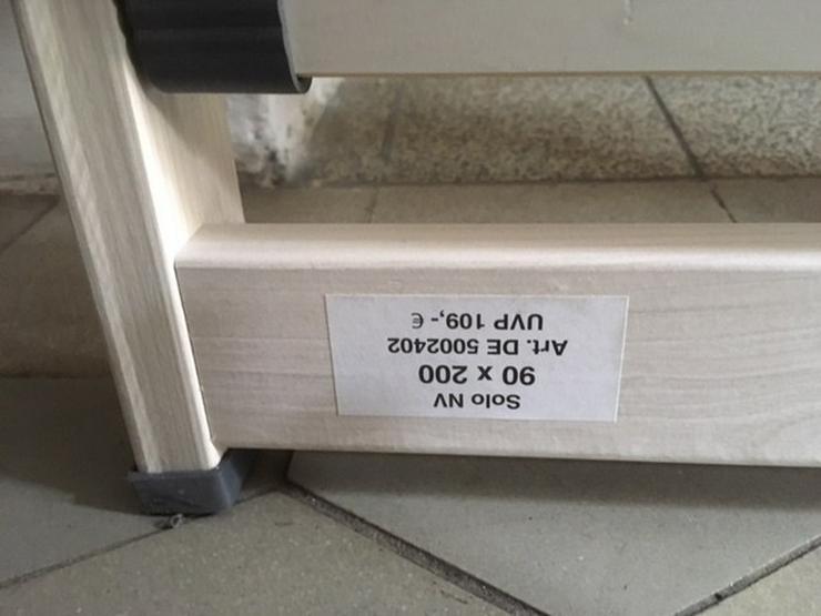 Bild 4: 2 verstellbare Lattenroste günstig abzugeben