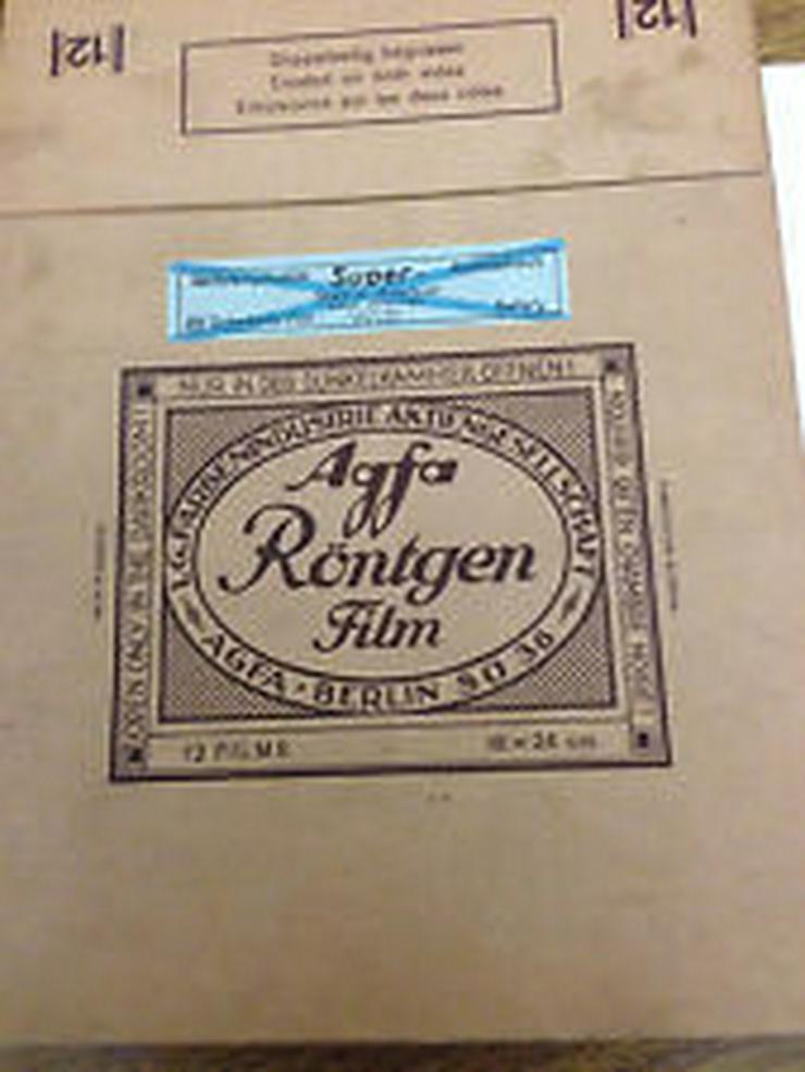 Agfa-Röntgen-Film-Karton-leer-
