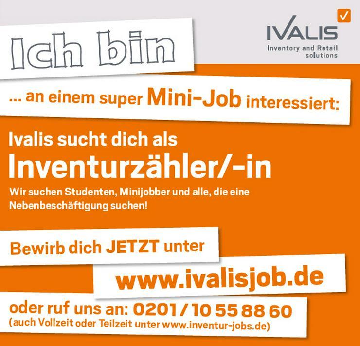Inventurhelfer/in in Nürnberg (Nebenjob)