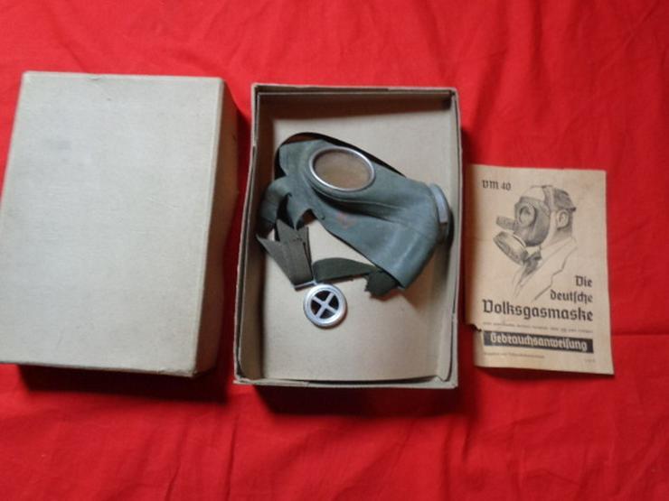 Wehrmacht Gasmaske Nationalsozialismus OVP - Weitere - Bild 1