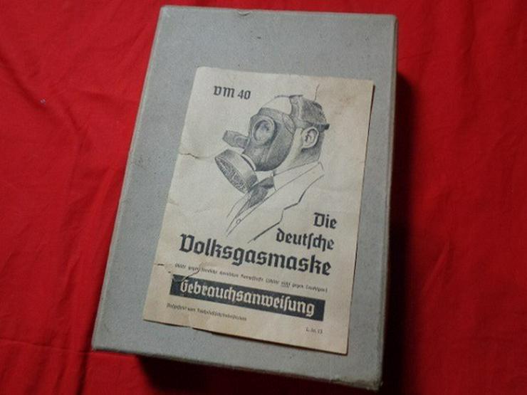 Bild 2: Wehrmacht Gasmaske Nationalsozialismus OVP