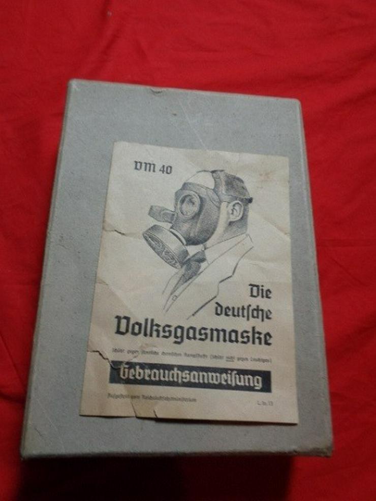 Bild 3: Wehrmacht Gasmaske Nationalsozialismus OVP