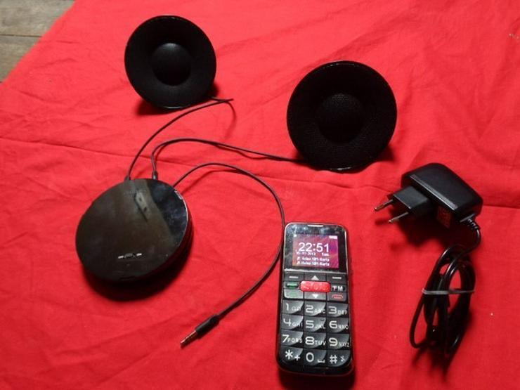Seniorentelefon/ handy+Lautsprecher Phips