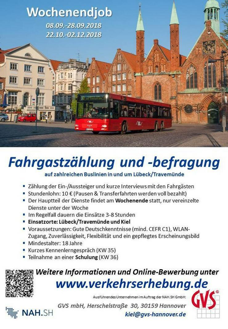 Fahrgastbefragung in und um Lübeck
