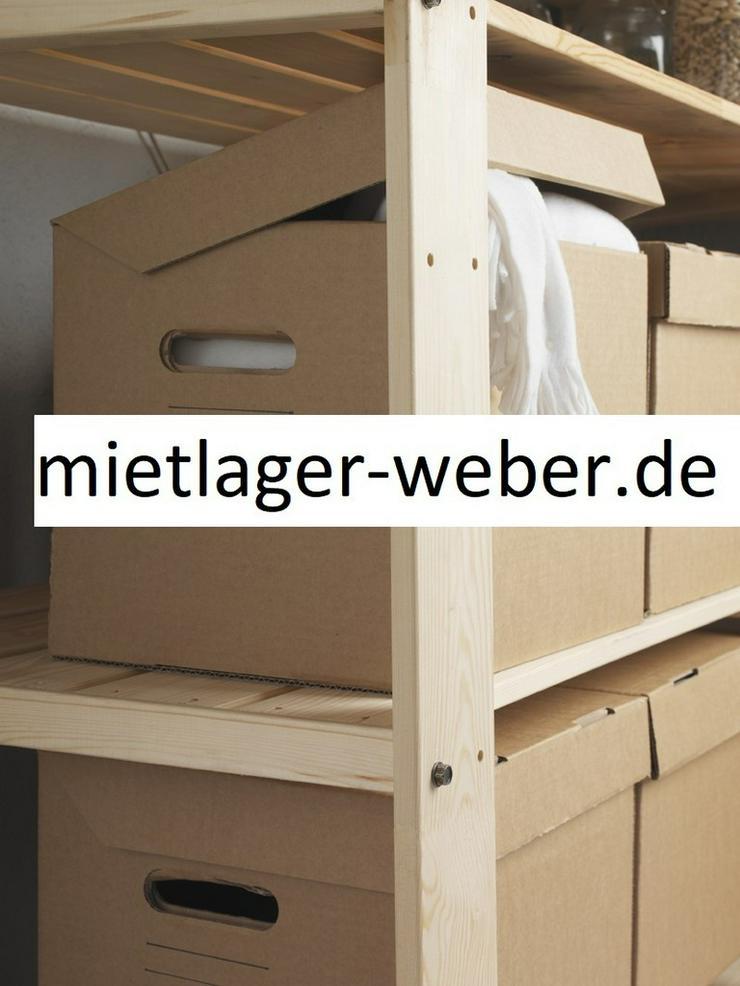 Mietbox 10qm Mietlager Selfstorage 35cbm Lagerraum - Umzug & Transporte - Bild 1