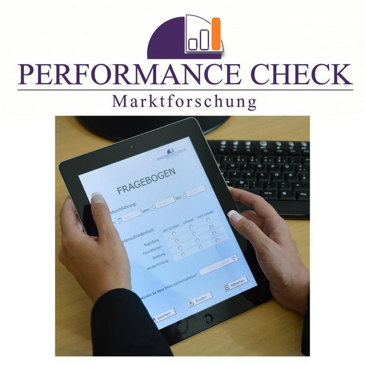 In der Marktforschung als Testkäufer